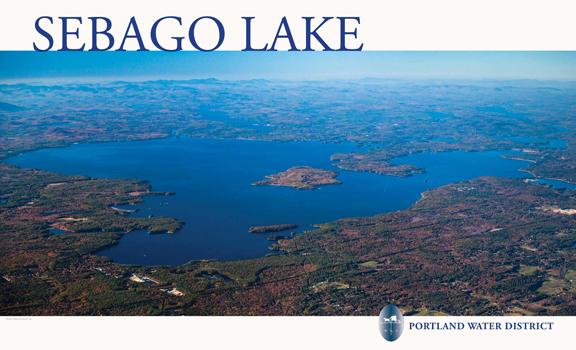 Sebago Lake Portland Water District - Maine lakes map