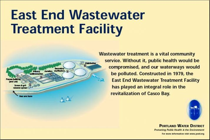 East End Wastewater Treatment facility helps to revitalize Casco Bay