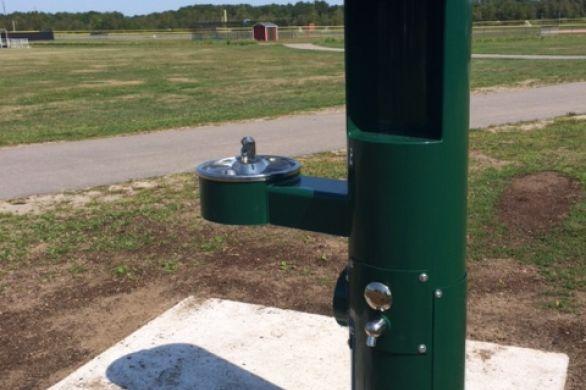 water bottle filling fountain
